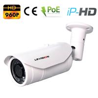 Caméra extérieure IP POE à Zoom Optique X4 - IP66 - 1.3 MegaPixels 960P