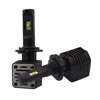 2 x Ampoules H7 - LED Puissance 40W - 4000 Lumens