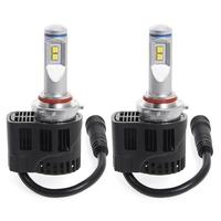 2 x Ampoules H10 - LED Puissance 55W - 5500 Lumens