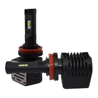 2 x Ampoules H9 - LED Puissance 40W - 4000 Lumens