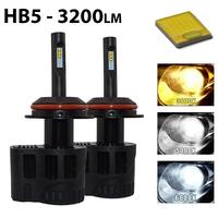 2 x Ampoules HB5 9007 - LEDs Puissance 30W - 3200 Lumens