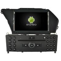 Autoradio Android 5.1 DVD GPS Mercedes GLK X204 depuis 2008