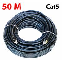 Câble éthernet CAT5e pour Caméra vidéo surveillance IP : 50 mètres