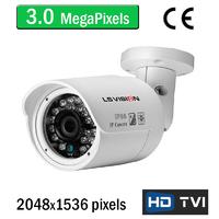 Caméra tube HD-TVI avec vision nocturne 20M - lentille fixe 3.6mm - IP66 - 3.0 MegaPixels