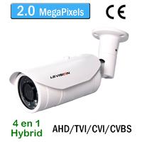 Caméra tube AHD/TVI/CVI/CVBS Infrarouge IR35M - Vari-focal 2.8-12mm - IP66 - 1080P 2.0 MegaPixels