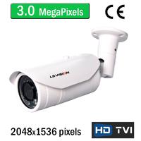 Caméra vidéosurveillance HD-TVI 3.0 MegaPixels Full HD avec vision nocturne 35m, Zoom Optique X4