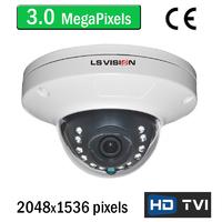 Caméra HD-TVI 3.0 MegaPixels avec vision nocturne 15m, lentille grand angle