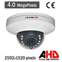 Caméra Dome AHD vision nocturne 15M - lentille fixe 3.6mm - IP66 - 4.0 MegaPixels