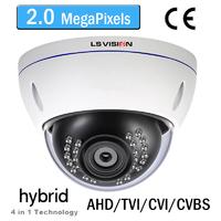Caméra Dome AHD/TVI/CVI/CVBS Infrarouge IR20M - Vari-focal 2.8-12mm - IP66 - 1080P 2.0 MegaPixels