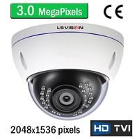 Caméra de vidéo surveillance HD-TVI 3.0 MegaPixels avec vision nocturne 20m, Zoom Optique X4