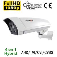 Caméra motorisée à vision nocturne 70 mètres de vidéosurveillance AHD/TVI/CVI/CVBS - 2.0 MegaPixels Full HD