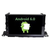 Autoradio Android 6.0 GPS Toyota Highlander depuis 2015 - Grand écran tactile 10,1 pouces