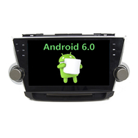 Autoradio Android 6.0 GPS Toyota Highlander de 2008 à 2013 - Grand écran tactile 10,1 pouces