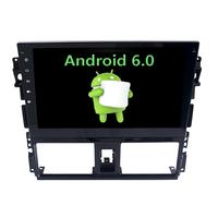 Autoradio Android 6.0 GPS Toyota Yaris depuis 2014 - Grand écran tactile 10,1 pouces