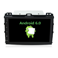 Autoradio Android 6.0 GPS Toyota Land Cruiser Prado 120 de 2002 à 2009 - Grand écran tactile 9 pouces