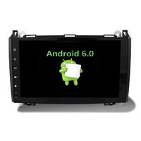 "Poste Android 6.0 écran tactile 9"" Mercedes Benz Classe A, Classe B, Vito, Viano, Sprinter & Volkswagen Crafter"