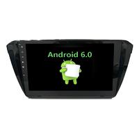 Autoradio Android 6.0 GPS Skoda Octavia depuis 2015 - Grand écran tactile 10,1 pouces