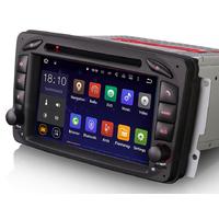 Autoradio Android 6.0 écran tactile GPS Mercedes Classe A W168, Classe C W203, Classe E W210, ML W163, CLK, SLK W170, Classe G, Viano & Vito