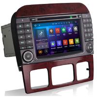 Autoradio Android 5.1 GPS Mercedes Benz Classe S W220 et SL R230 de 07/2004 à 2009