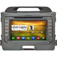 Autoradio Android 4.4.4 Wifi GPS Waze Kia Sportage de 2010 à 2013