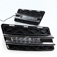 Feux de jour à 6 LEDs (DRL) pour Mercedes Classe Glk