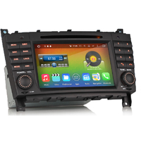 Autoradio Android 6.0 GPS Mercedes Benz Classe C W203 et CLC