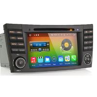 Autoradio Android 6.0 Wifi GPS Waze Mercedes Benz Classe E W211, CLS & Classe G W463
