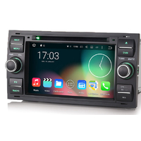 Autoradio Android 6.0 Wifi GPS Waze Ford Kuga, C-Max, S-Max, Fiesta, Focus, Fusion, Transit, Mondeo