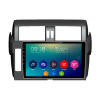 Autoradio Android 6.0 GPS Bluetooth Toyota Prado depuis 2014 - Grand écran tactile 10,1 pouces