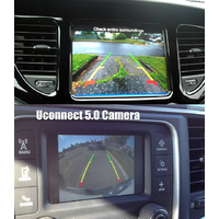 """Interface caméra de recul Chrysler, Dodge, Fiat, Jeep, Lancia avec UConnect 5"""" et Uconnect 8.4"""""""