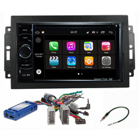 Autoradio Android 7.1 Wifi GPS Waze Jeep Grand Cherokee, Compass, Commander, Wrangler, Patriot (Remplace autoradio NAV d'origine)