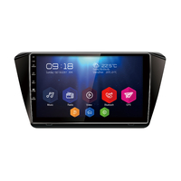 Autoradio Android 6.0 écran tactile 10 pouces WIFI GPS DVD Skoda Superb depuis 2015