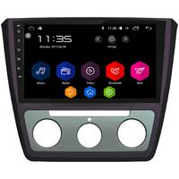 Autoradio Android 6.0 GPS Bluetooth Skoda Yeti avec climatisation manuelle