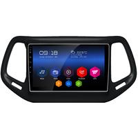 Autoradio Android 6.0 GPS Waze Wifi Bluetooth écran tactile 10 pouces Jeep Commander depuis 2016
