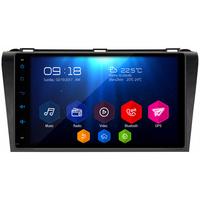"""Autoradio Android 6.0 GPS Wifi Bluetooth écran tactile 9"""" Mazda 3 de 2004 à 2008"""