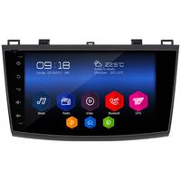 "Autoradio Android 6.0 GPS Wifi internet écran tactile 9"" Mazda 3 de 2010 à 2013"