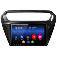 Autoradio Android 6.0 GPS Wifi écran tactile 9 pouces Citroën Elysée et Peugeot 301