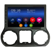 Autoradio Android 6.0 GPS Waze Mains libres écran tactile 10 pouces Jeep Wrangler