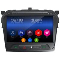 Autoradio Android 6.0 GPS Waze Mains libres écran tactile 10 pouces Suzuki Vitara depuis 2015