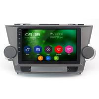 Autoradio Android 6.0 GPS Wifi Bluetooth Toyota Highlander 2008 à 2013 avec écran tactile 10,1 pouces