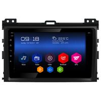 Autoradio Android 6.0 GPS Toyota Land Cruiser Prado 120 de 2002 à 2009 - Grand écran tactile 9 pouces