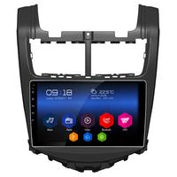 Autoradio Android 6.0 GPS Waze Wifi écran tactile 9 pouces Chevrolet Aveo depuis 2010