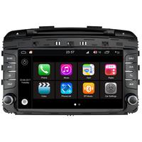 Autoradio Android 7.1 GPS DVD Mains libres Bluetooth Kia Sorento depuis 2013
