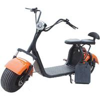 Citycoco à batterie amovible : Scooter électrique 1000 Watts, vitesse 45km/h - 14 coloris au choix