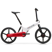 GoCycle GS Blanc-Rouge - Vélo électrique autonomie 80 kms