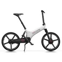 GoCycle GS Blanc-Noir - Vélo pliant électrique nouvelle génération