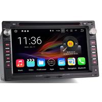"Autoradio Android 7.1 Wifi Bluetooth GPS Volkswagen Golf 4, Bora, Polo, Passat, Lupo, T4 - écran 6,5"""