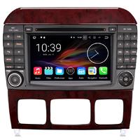 Autoradio Android 7.1 GPS Mercedes Benz Classe S W220 et SL R230 de 07/2004 à 2009