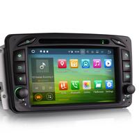 Autoradio Android 8.0 écran tactile GPS Mercedes Classe A W168, Classe C W203, Classe E W210, ML W163, CLK, SLK W170, Classe G, Viano & Vito