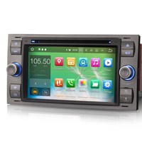 Autoradio Android 7.1 Wifi GPS Waze Ford Kuga, C-Max, S-Max, Fiesta, Focus, Fusion, Transit, Mondeo